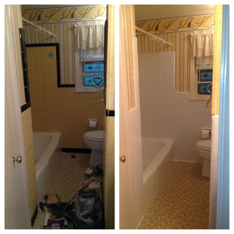 Bathtub resurfacing / Tile repair - Memphis, Southaven - Surface ...